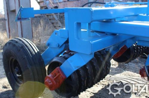 Wal Posiewny Uprawowy 12.5 m 6700 kg