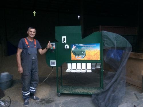 Separator Do Zboża Typ Otwarty 3-5 t/h