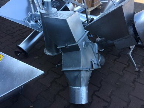 Przenośnik Pionowy 150 mm Kosz Napychający