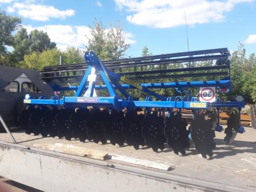 "Brona Talerzowa 3.6m/510mm ""STEP-AGRO"""